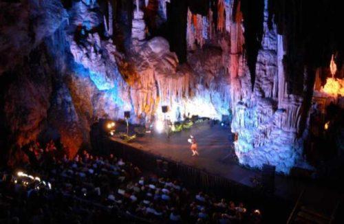 Festival in Cueva de Nerja
