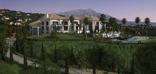 Vladimir Putin built a big mansion in Marbella