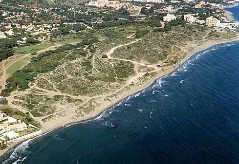 Dunes in Marbella
