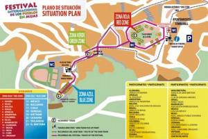 Mijas fair map