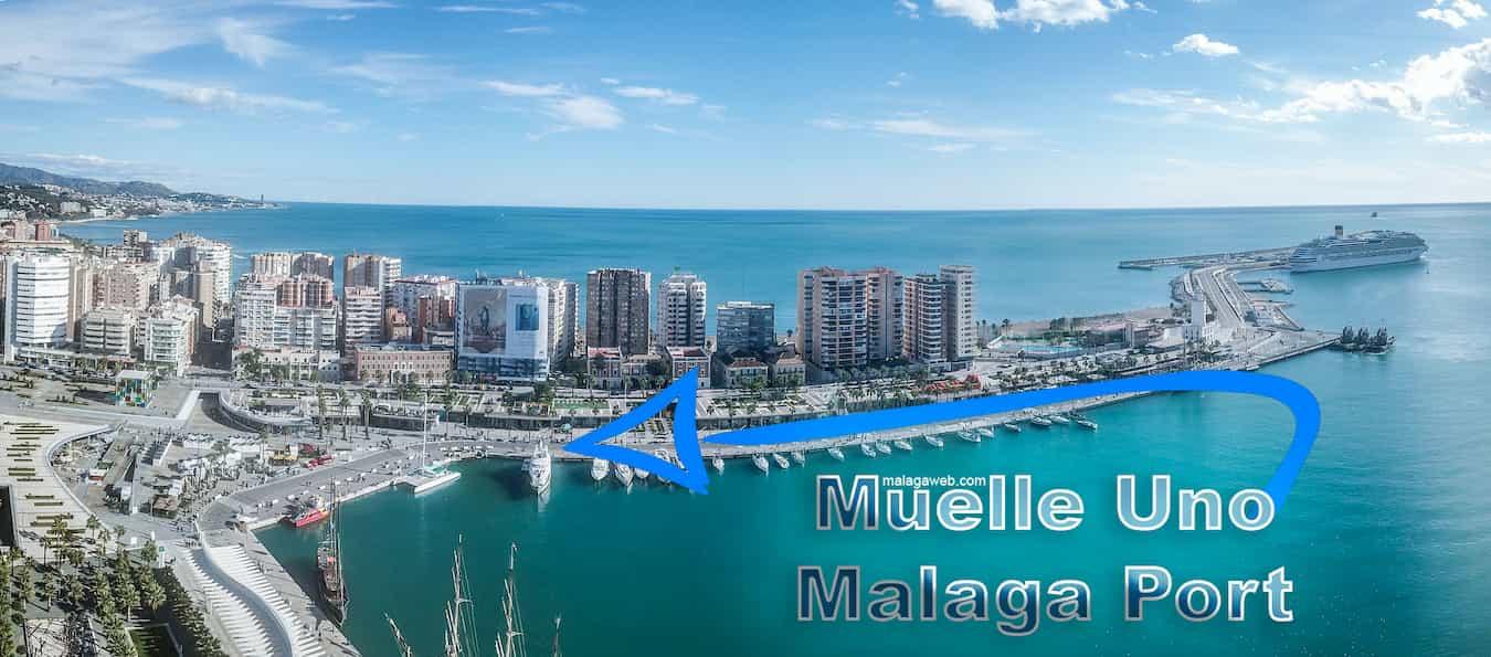Pier 1 Malaga port