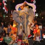 The Three Kings Parade in Malaga 2013