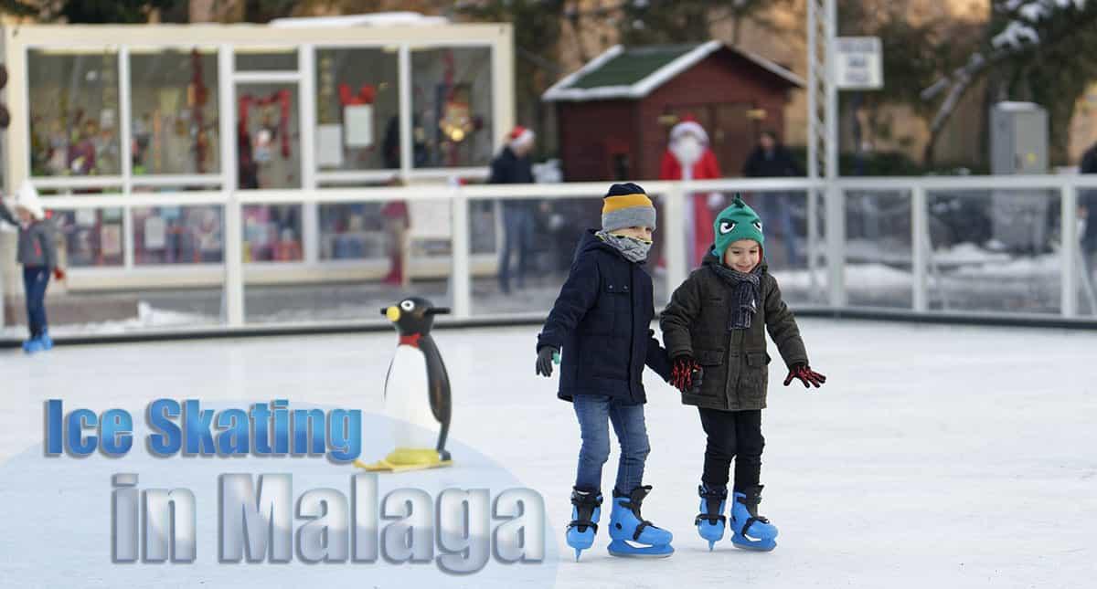 Ice rink in Malaga