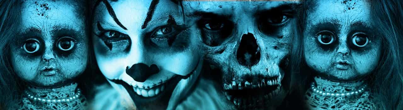 Caras de Halloween