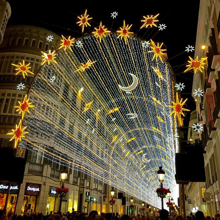 Christmas In Malaga, Lights, Markets And New Year's Eve