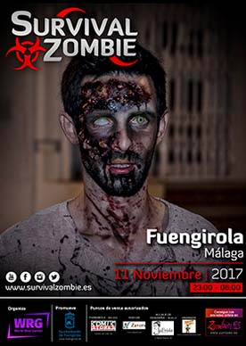 survival zombie in Fuengirola