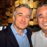 Robert de Niro and Nobu Matsuhisa