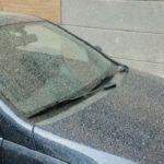 Mud Rain on car