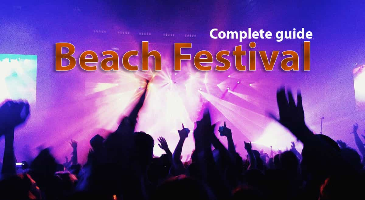 Beach festival guide