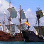 Nao Victoria sailing