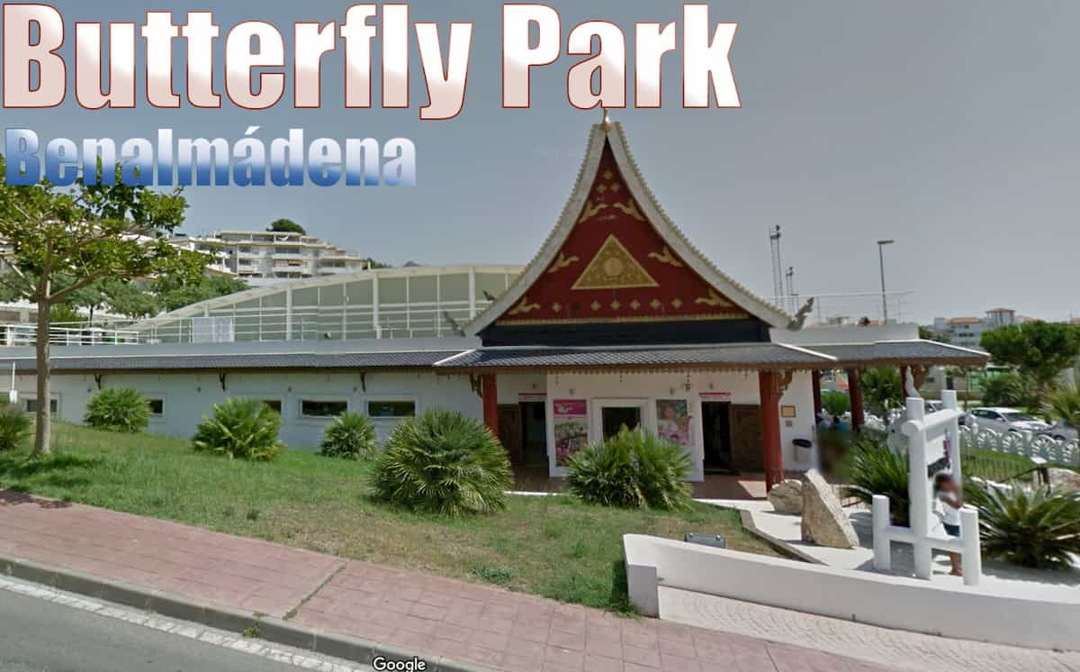Butterfly Park exterior in Benalmadena