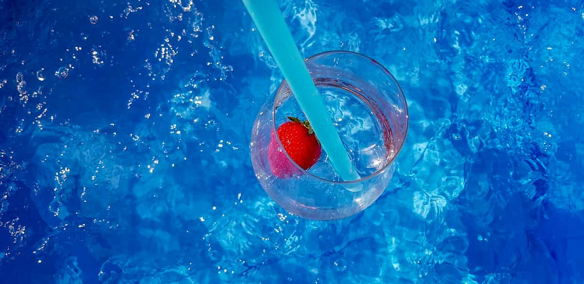 Cocktail in summer