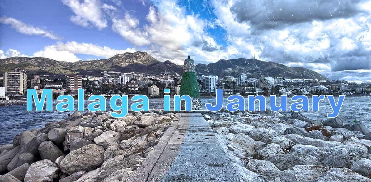 Malaga in January