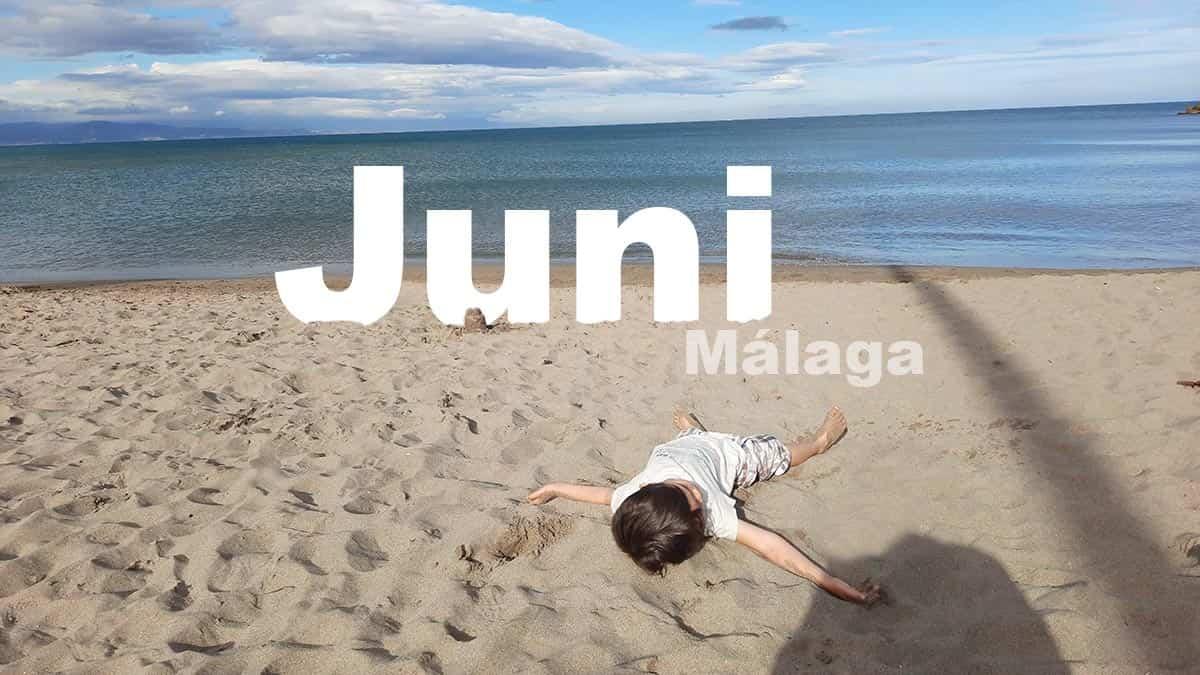 Juni in Málaga