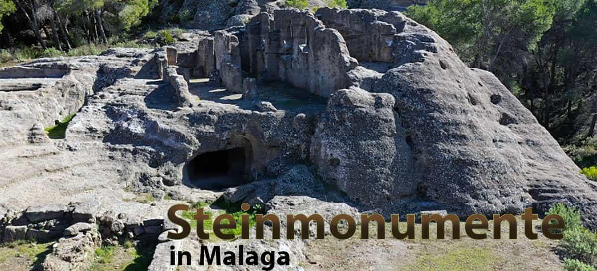 Steinmonumente in Málaga