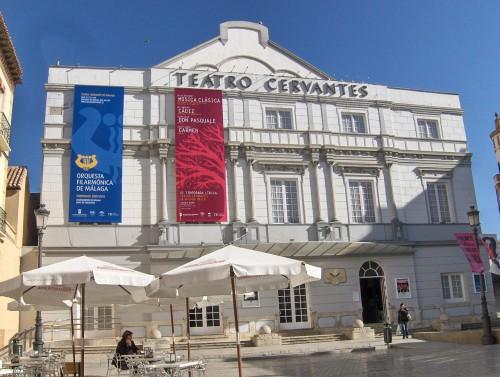 Cervantes Theater in Málaga