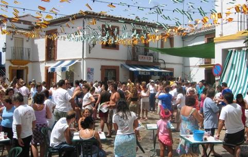 Jimera de Libar volksfest
