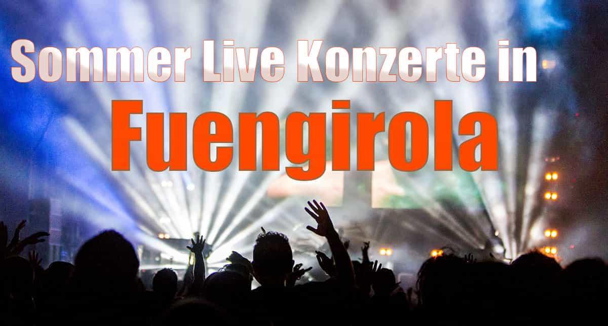 Sommer Live Konzerte in Fuengirola