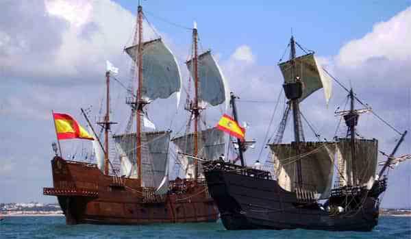 Nao victoria in Málaga