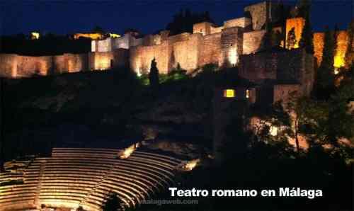 Römisches Theater in Malaga