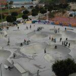 Einer der besten Skateparks Europas in Fuengirola