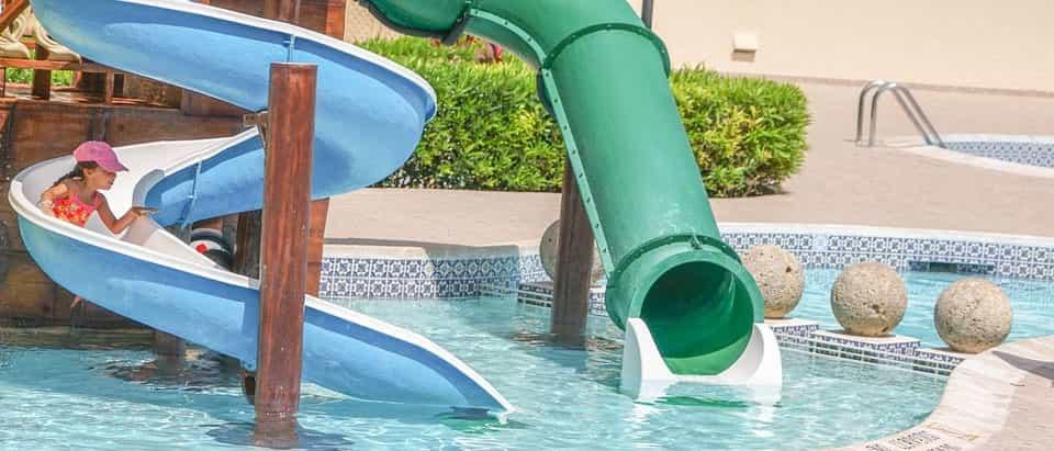 Parque acuático en hotel