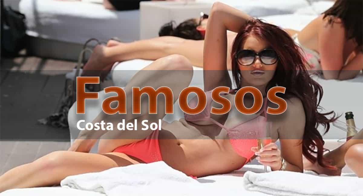 famosos en la Costa del Sol, Malaga