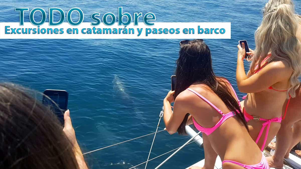 Excursiones en barco y catamarán en Málaga