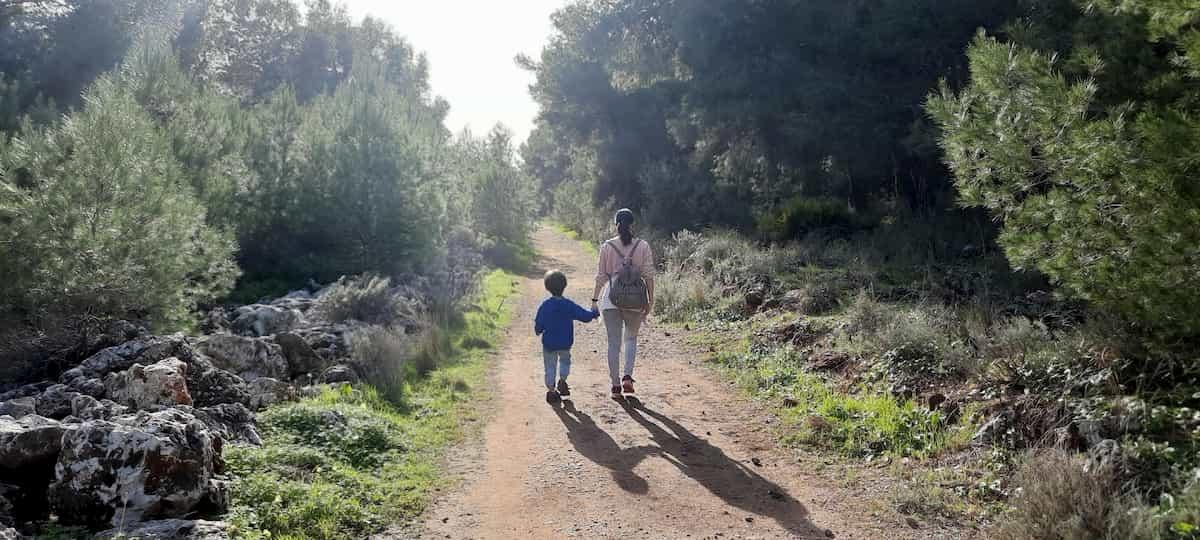 senderismo en Torremolinos fácil con niño
