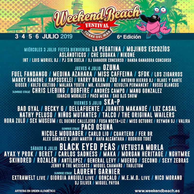 Weekend Beach Festival 2019