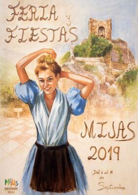 Cartel Feria Mijas Pueblo 2019