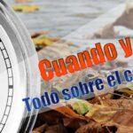 ¿Cuando es el cambio horario en España?