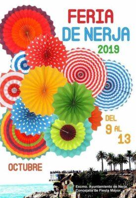 Cartel de la Feria de Nerja 2019