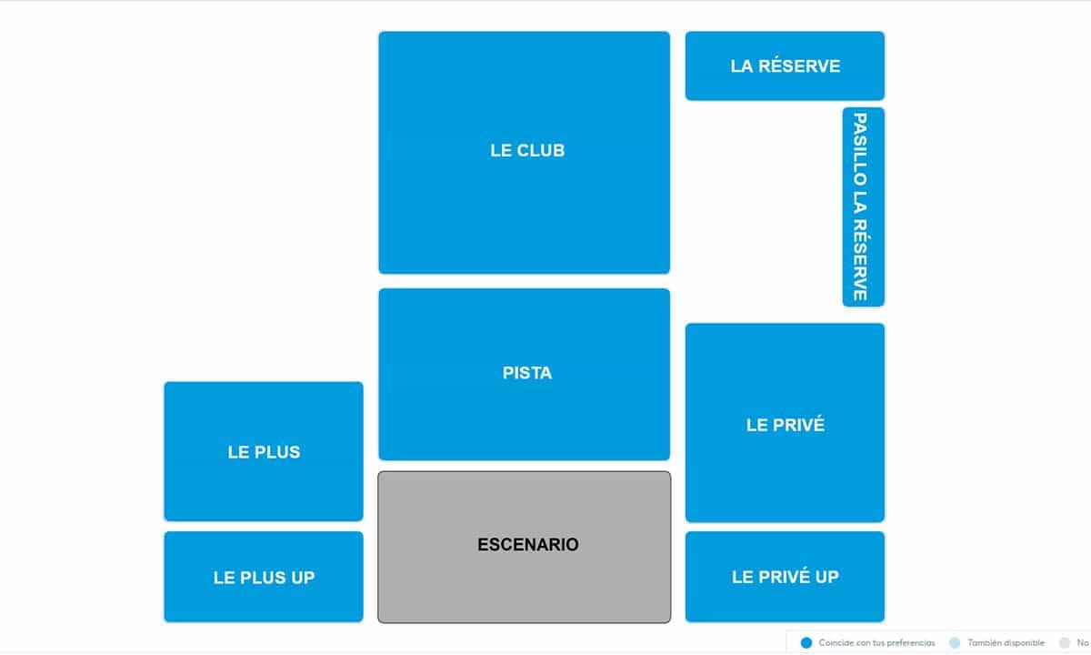 Mapa Sessions Starlite Marbella