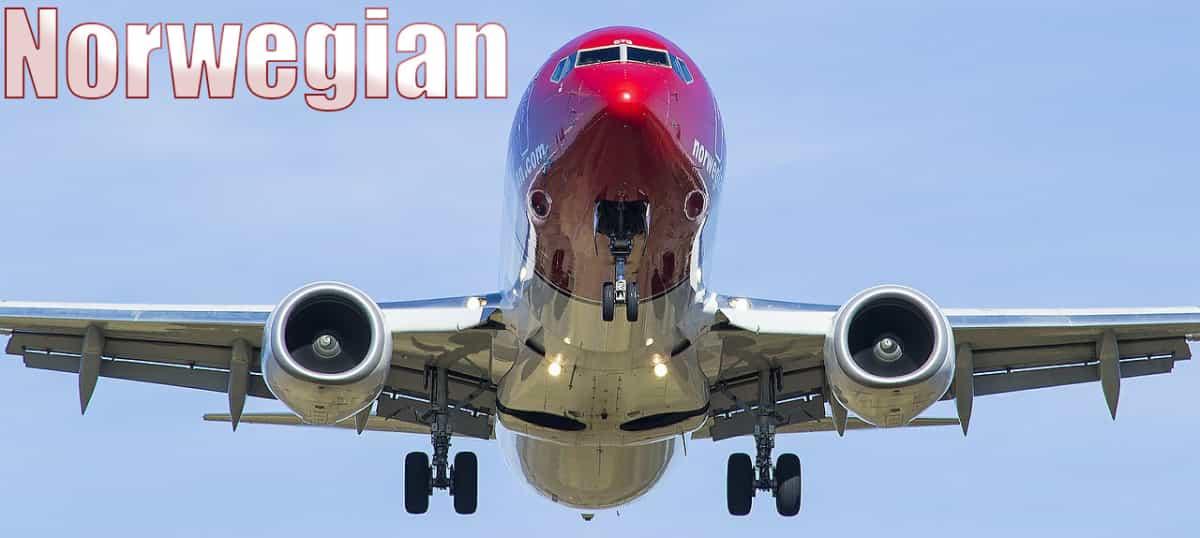 Vuelos de Norwegian con Málaga en 2019