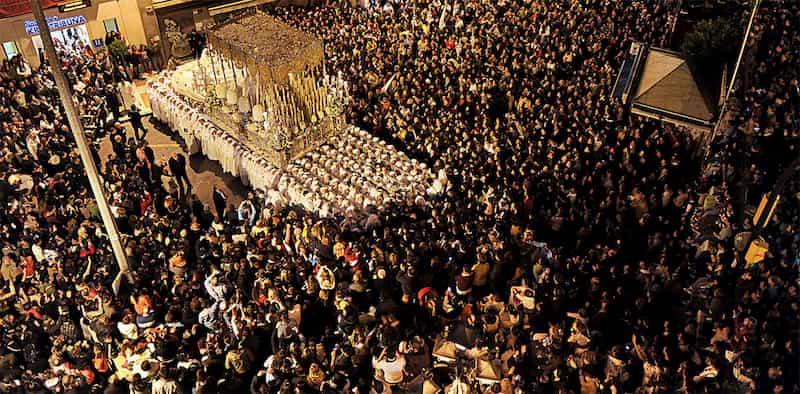 Rocio Procession in Malaga