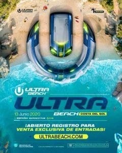 Ultrabeach festival in Spain