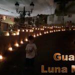 Luna Mora en Guaro por la noche