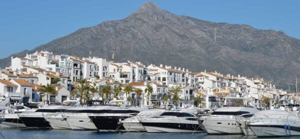 Puerto Banús overview in Marbella
