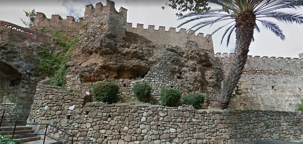 Alcazaba und Festungsmauer