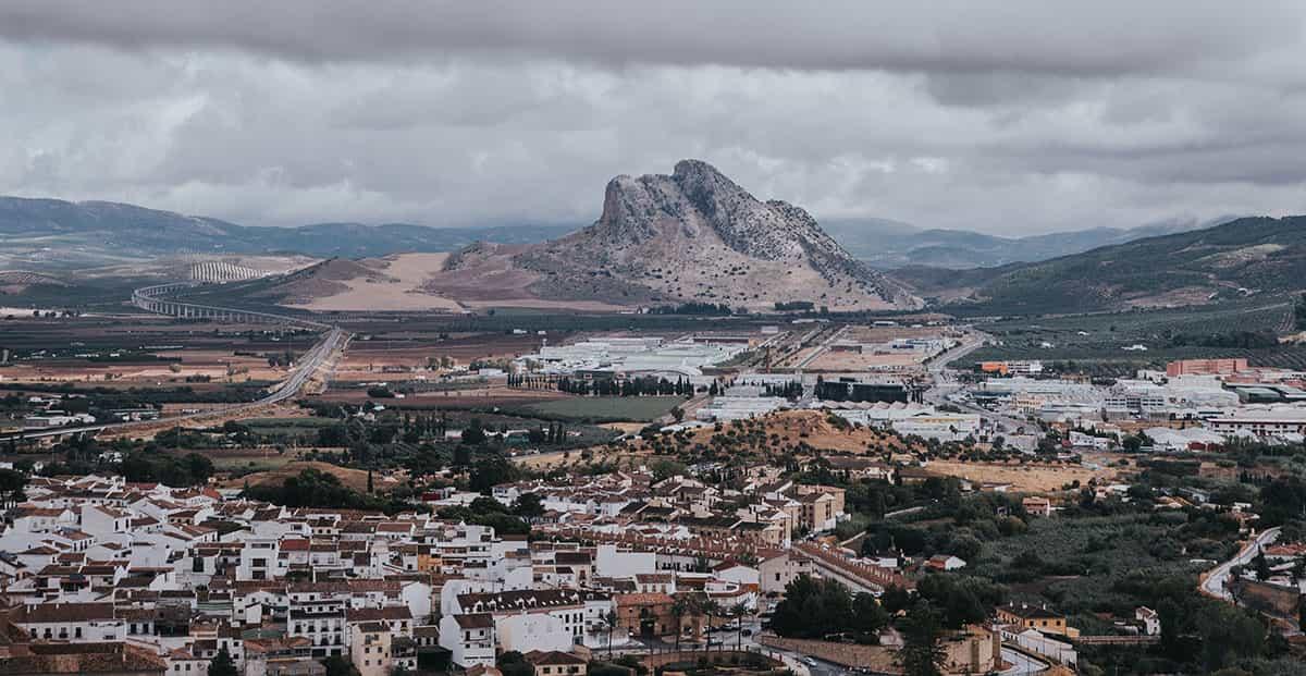 Peña de los Enamorados en Antequera