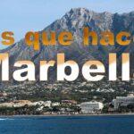Cosas que hacer y visitar en Marbella