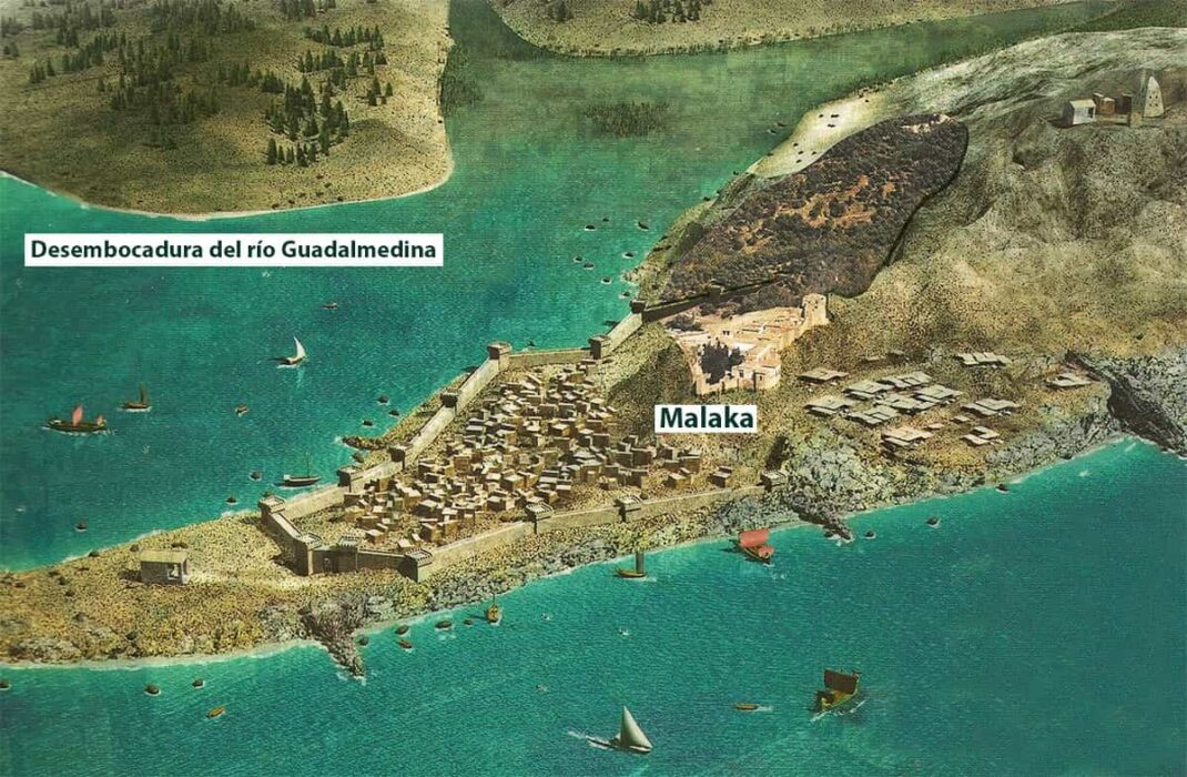 Recreation of the city of Malaka