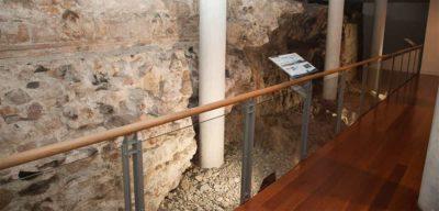 Muralla fenicia en Málaga