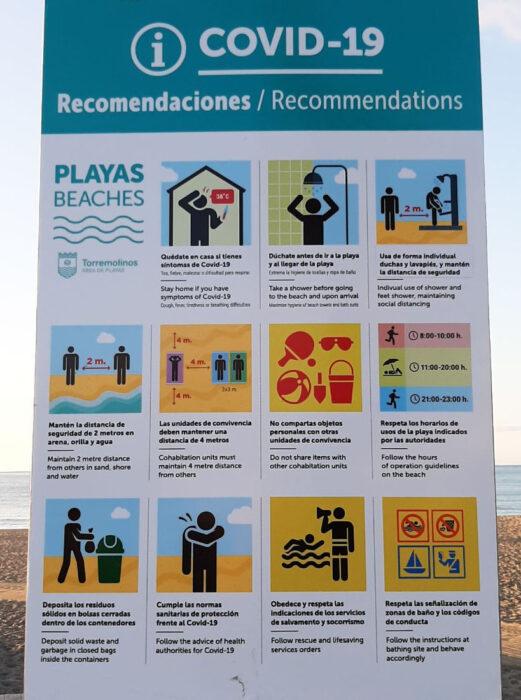 Empfehlungen für den Strandbesuch nach dem Covid