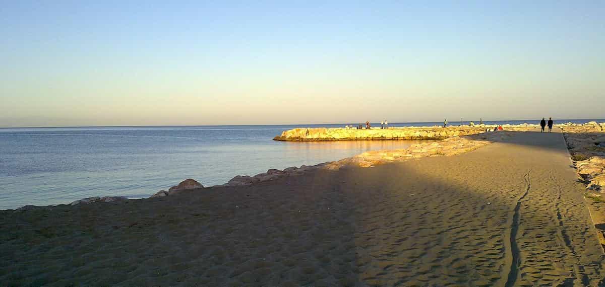 Strand in Fuengirola