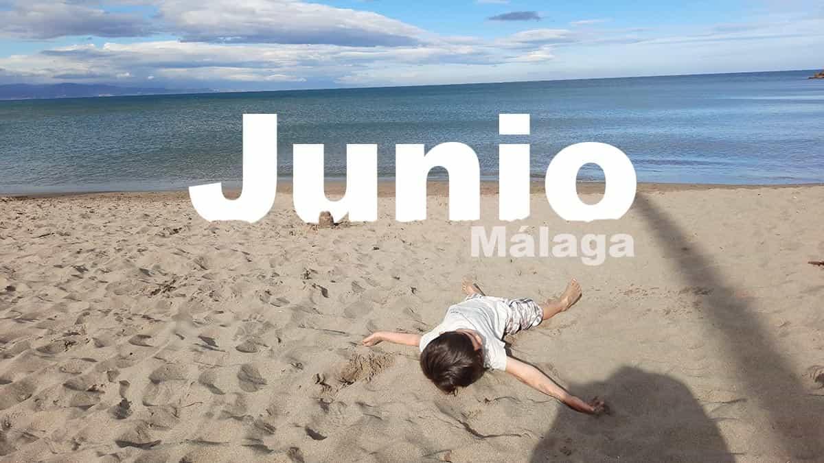 Málaga en Junio