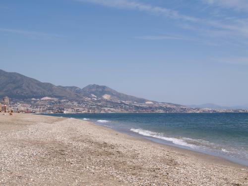 Playa de la Costa del Sol en Fuengirola