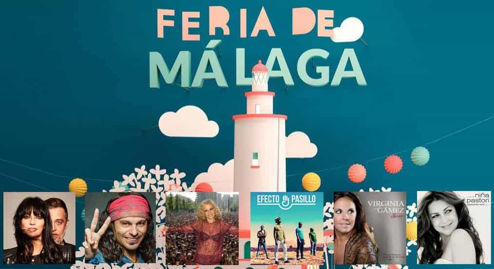 Actuaciones Feria de Málaga 2018