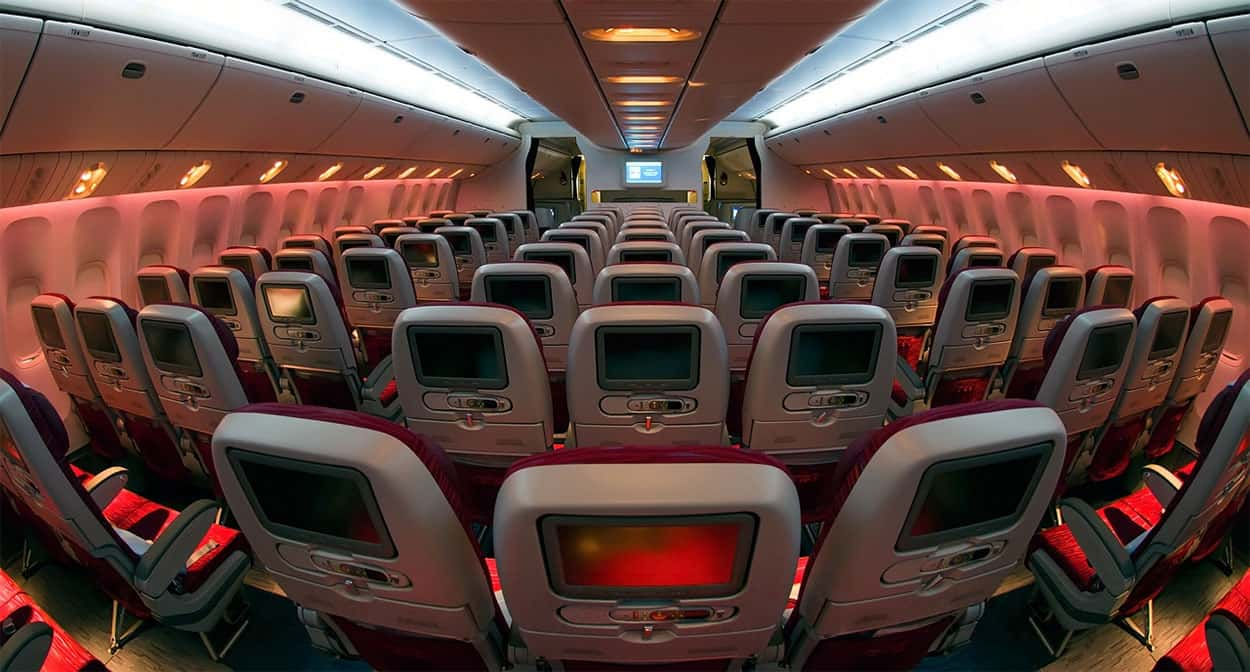 Asientos Qatar Boeing 777